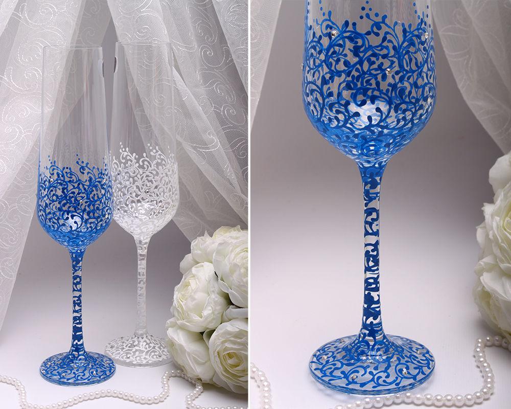 Свадебные бокалы Electrik