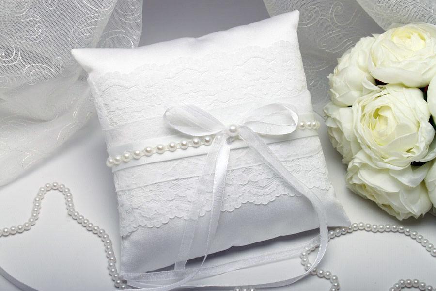 Подушка для колец Daylight white