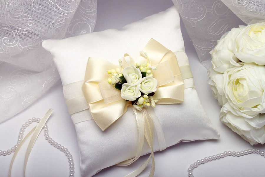 Подушка для колец Flowers auvori