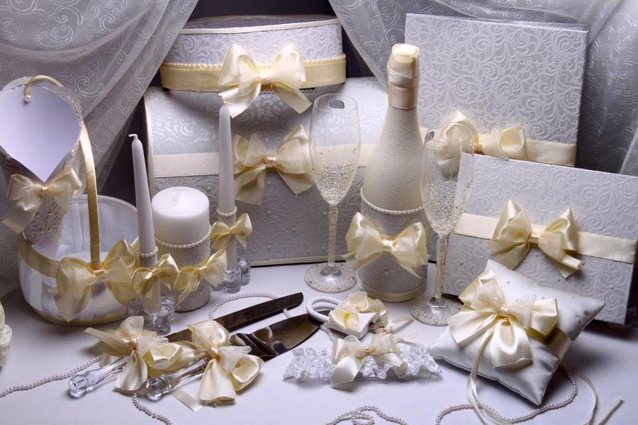Набор свадебный Карамель