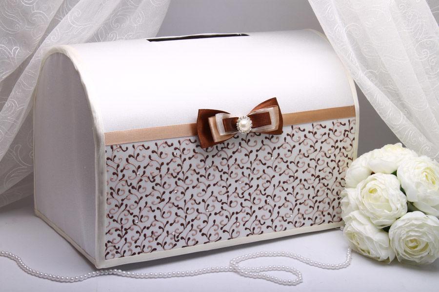 Коробка для денег на свадьбу Chocolate