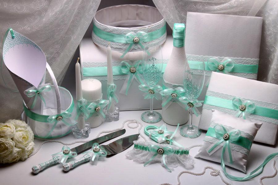 Набор свадебный Mint