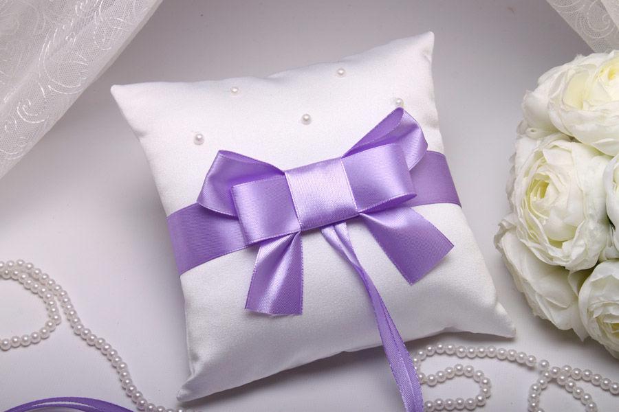 Подушка Purple bow