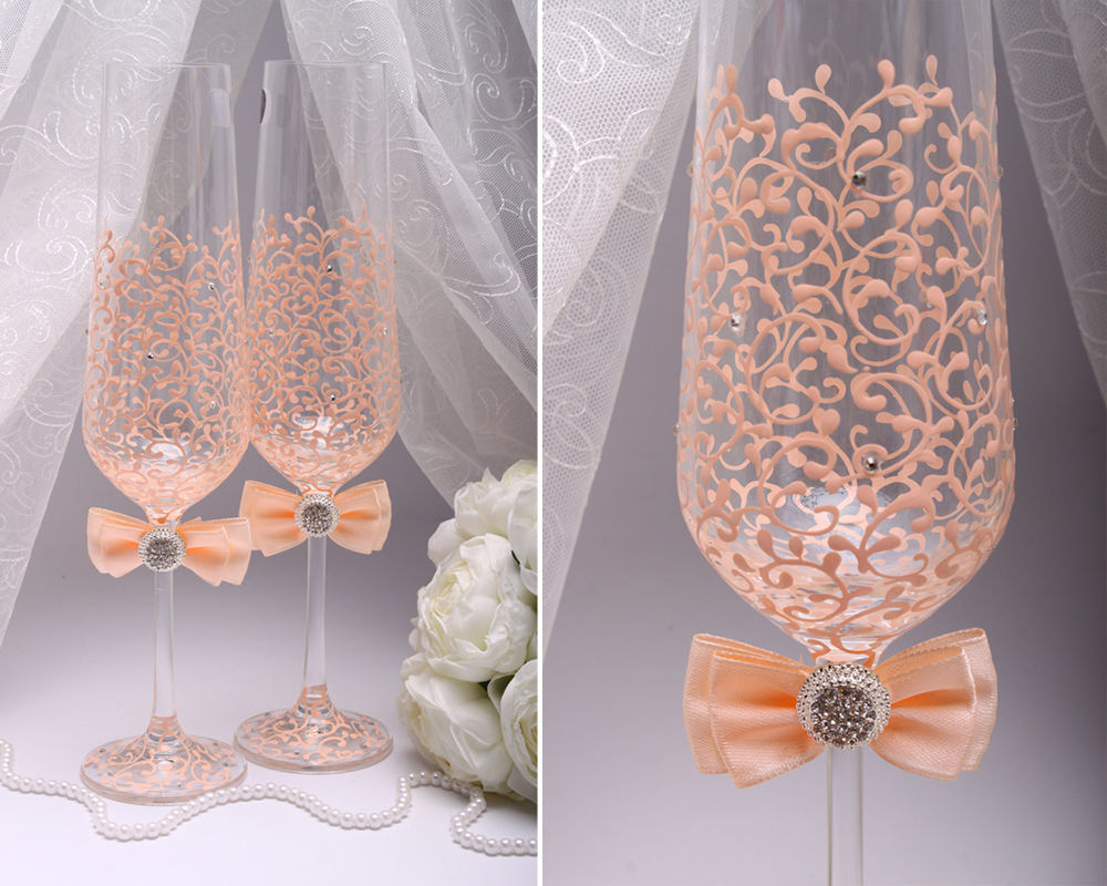 Свадебные бокалы для шампанского Favorite