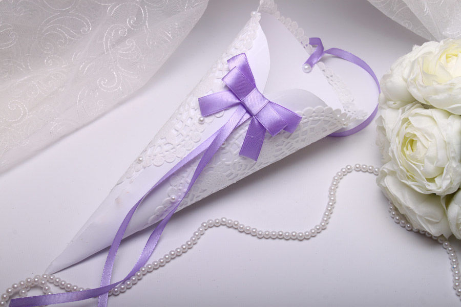 Кулек Purple bow
