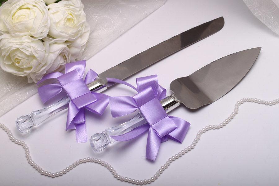 Нож и лопатка Purple bow