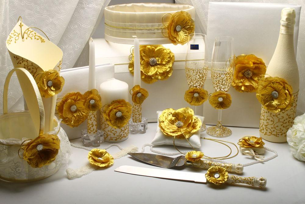 Набор свадебный Golden Flower