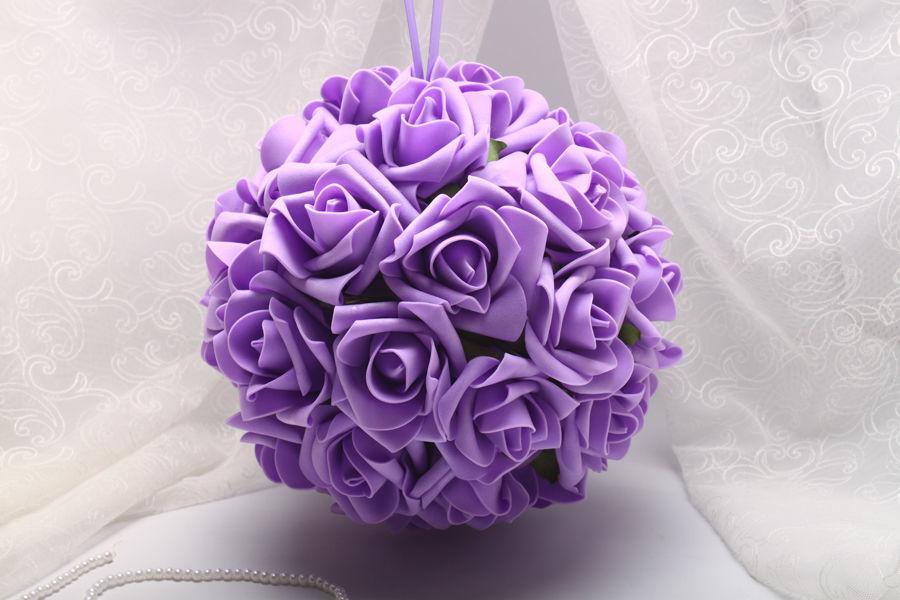 Помпон из роз