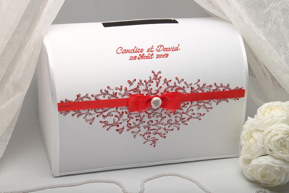 Коробка для денег на свадьбу Ruby