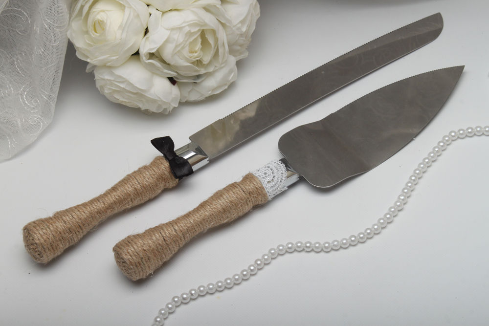 Нож и лопатка Mr. & Mrs.Rustik