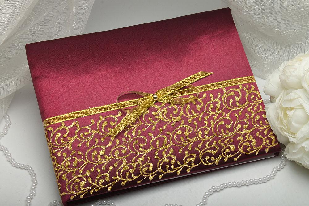 Книга для пожеланий Burgundy