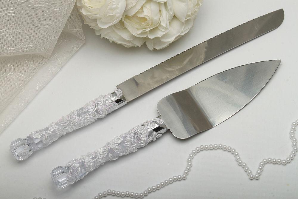 Нож и лопатка Белая свадьба