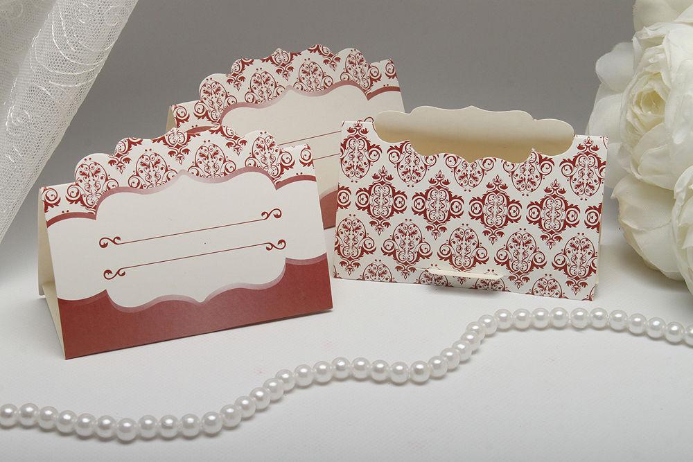 Рассадочные карточки Choco