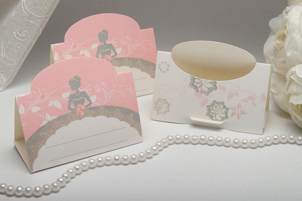 Рассадочные карточки Bride