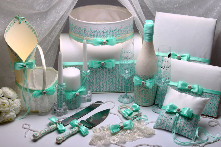 Свадебный набор Tiffany