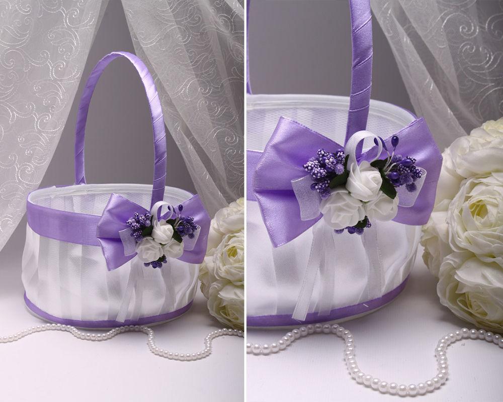Корзинка Flowers purple