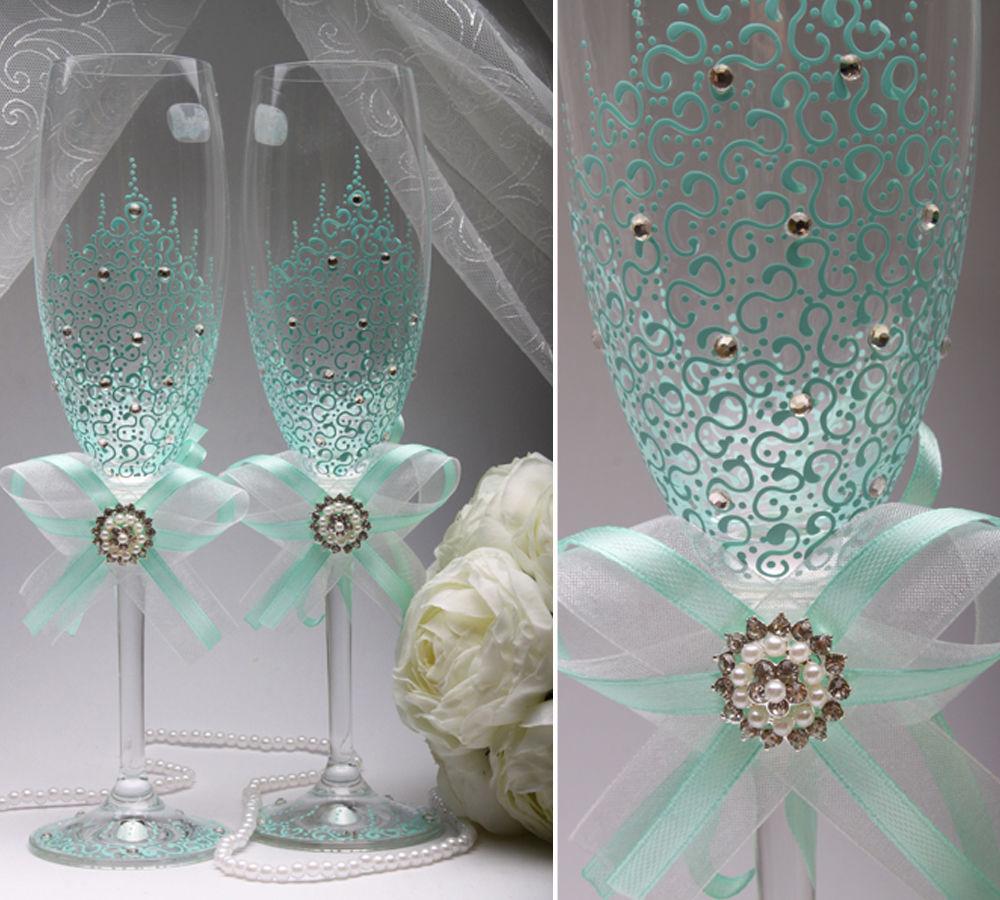 Свадебные бокалы Mint