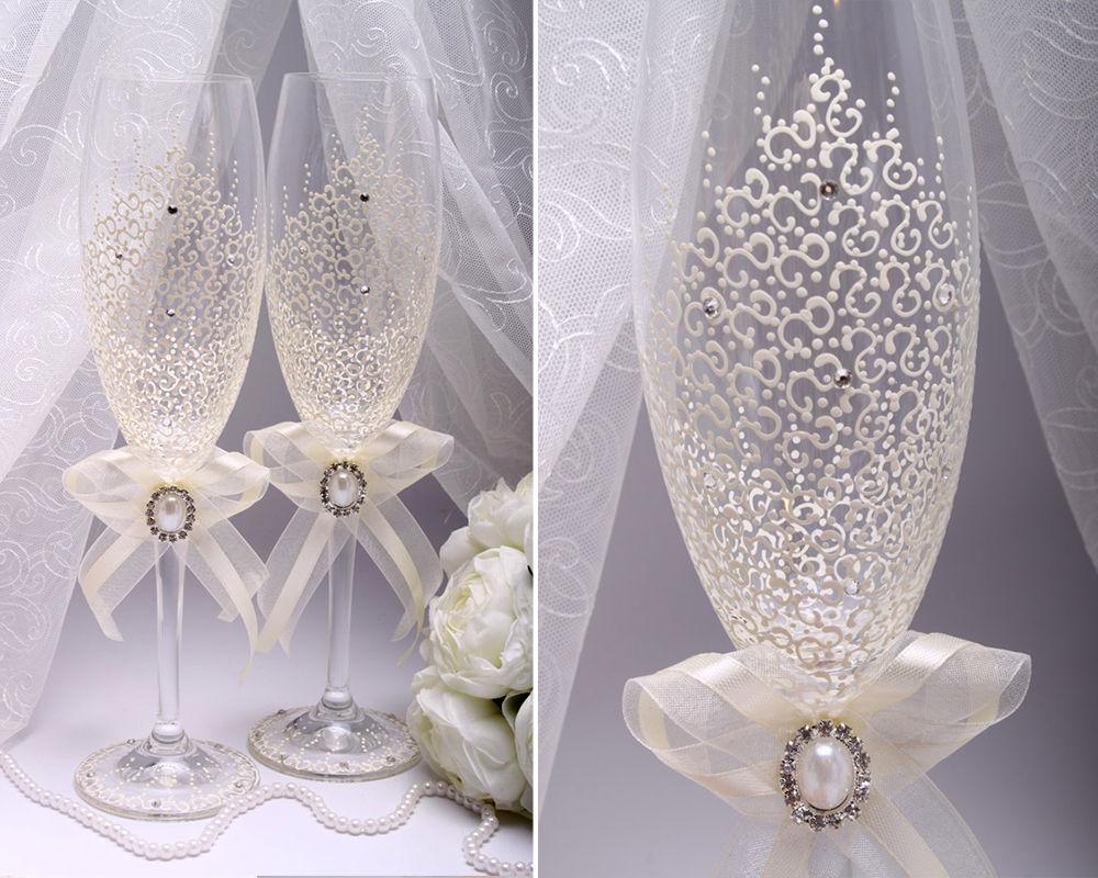 Свадебные бокалы Pearl