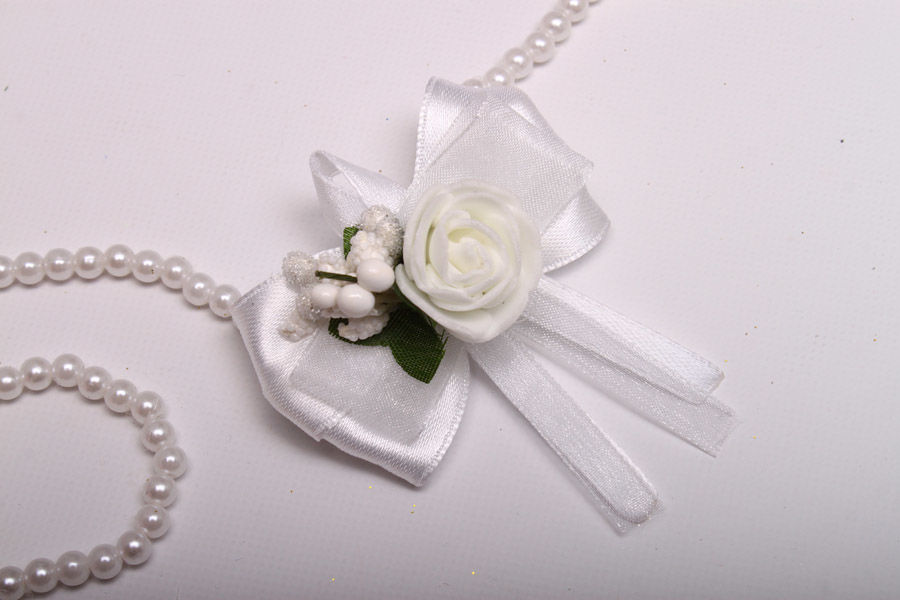Набір Бутоньєрка Flowers white 5 шт