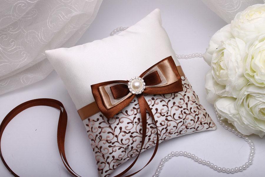 Подушка для колец Chocolate