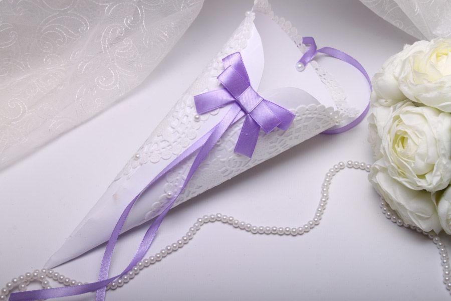 Кулек Purple bow