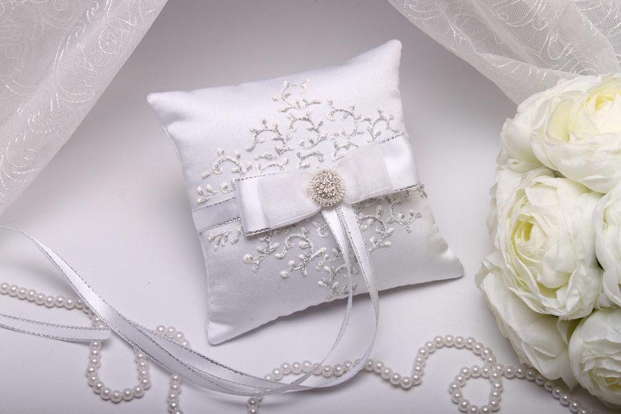 Подушка маленькая Silvery