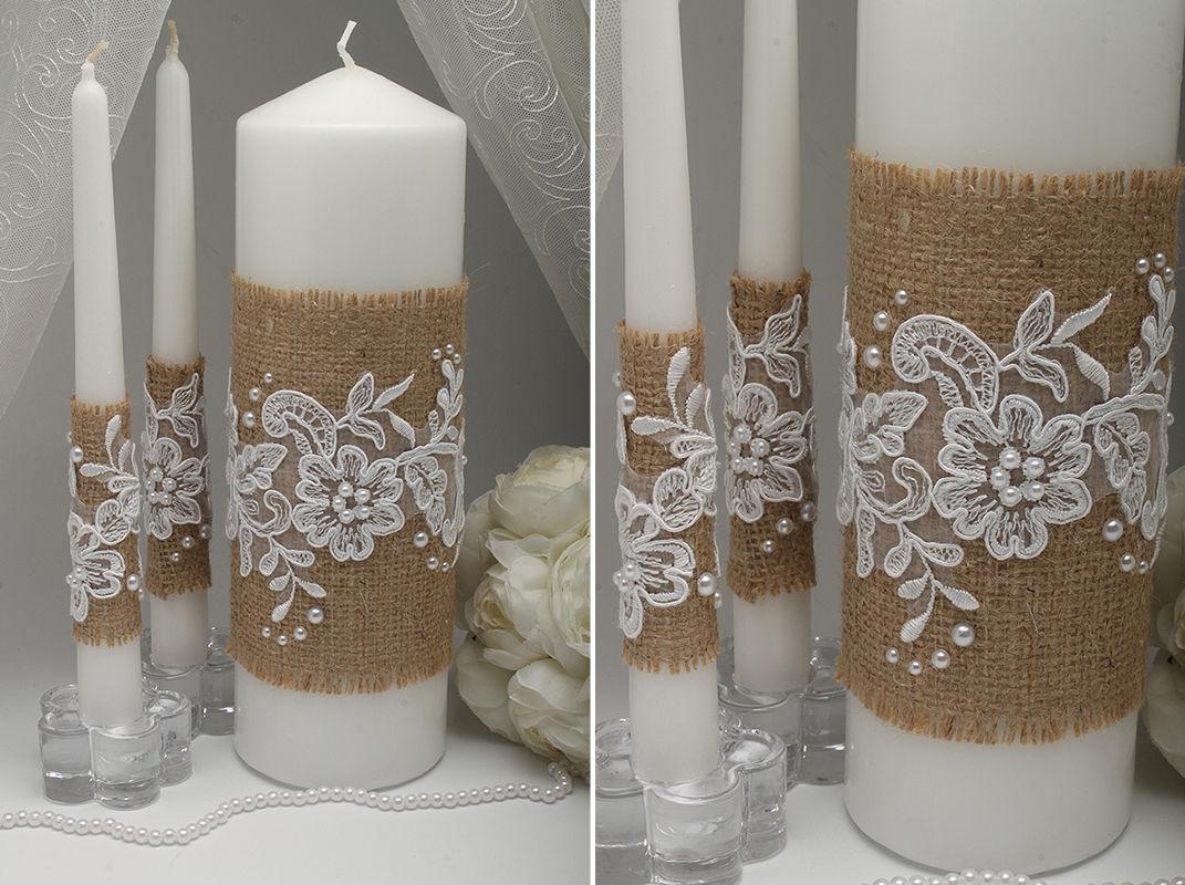 Свадебные свечи Provence