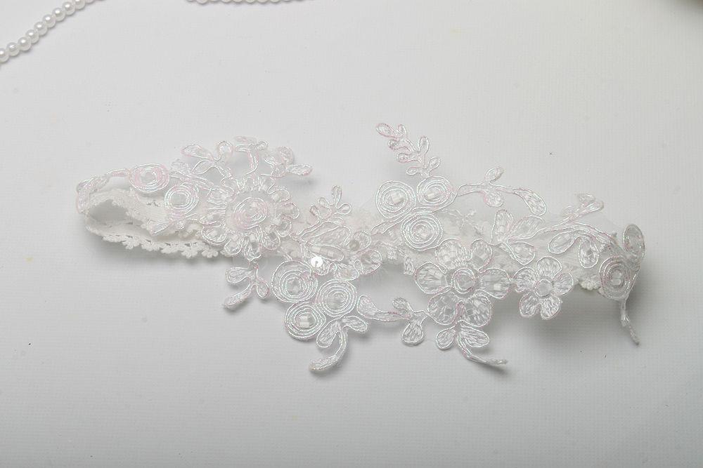 Подвязка Белая свадьба