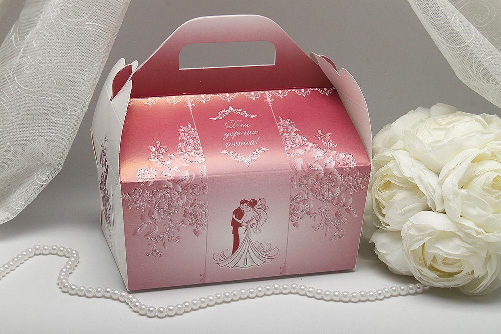 Коробка для короваю Троянди