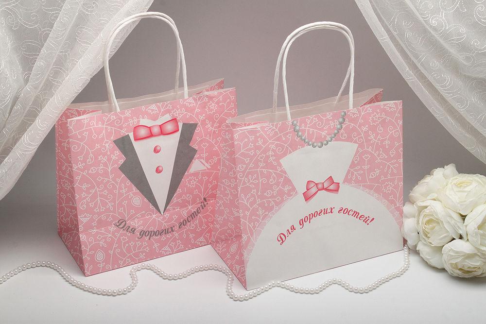Пакеты для каравая  Невеста