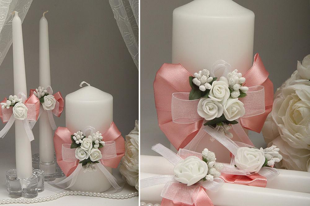 Весільні свічки Flowers pydra