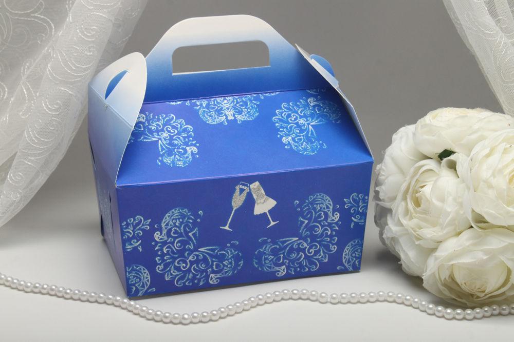 Коробочки для каравая Невеста и Жених