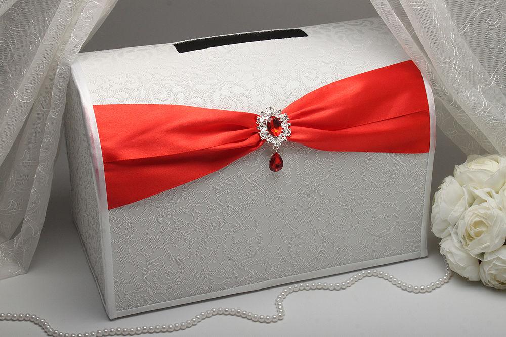 Коробка для денег Gracie red