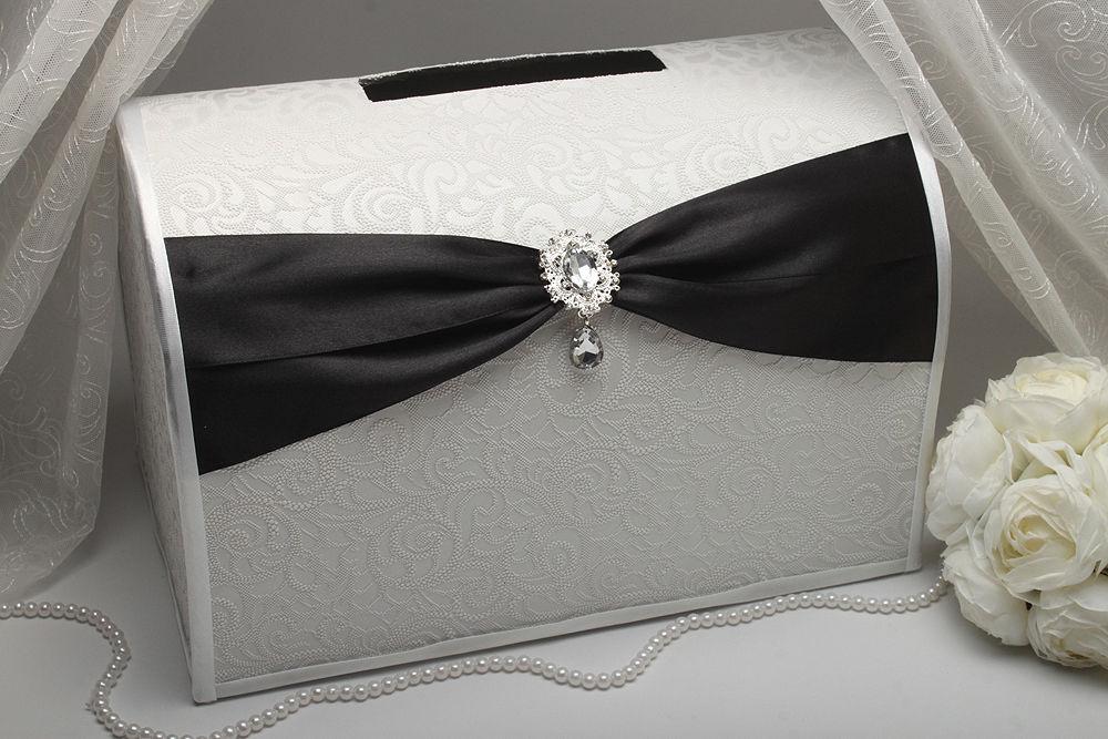 Коробка для денег Gracie black