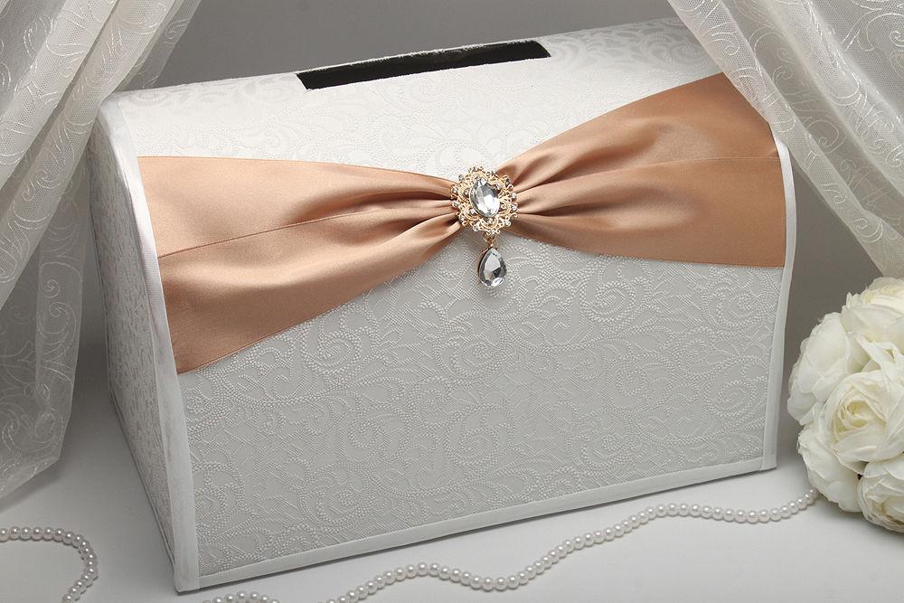 Коробка для денег Gracie caramel