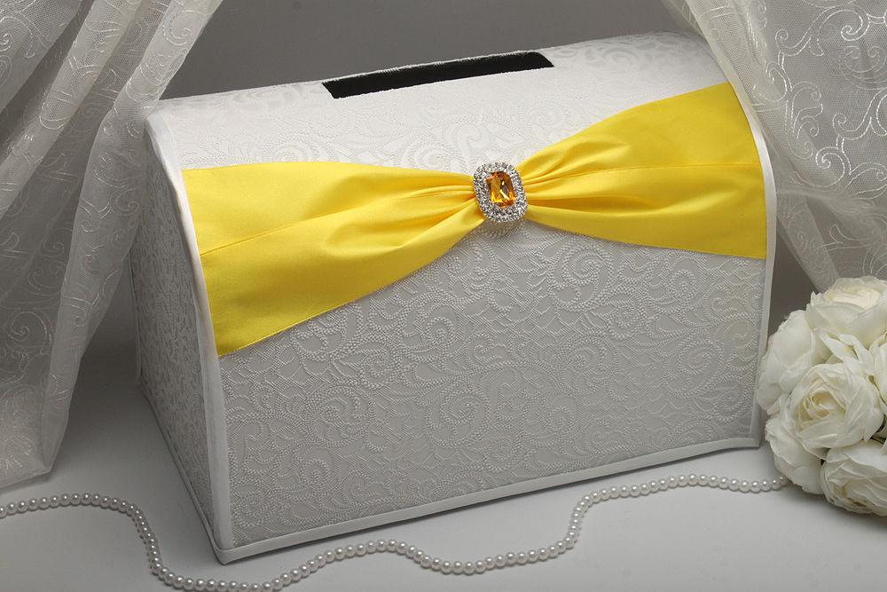 Коробка для денег Gracie yellow